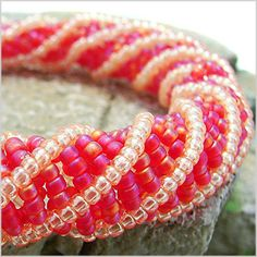 Learn African Helix Stitch | Jewelry Making Videos