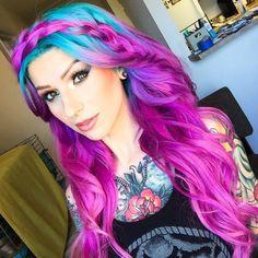 Airica Michelle Blue Hair