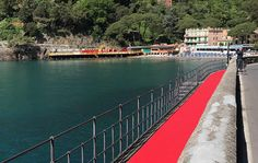 Italy rolls out the red carpet along the Italian Riviera Italy rolls out the red carpet along the Italian Riviera
