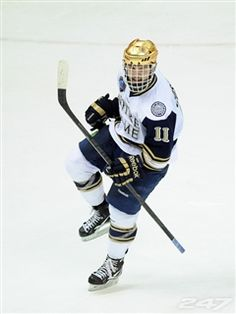 Senior Jeff Costello takes over as Notre Dame's captain when the team begins its season this weekend.