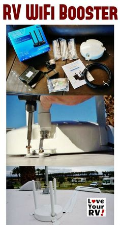 Installing the Winegard ConnecT RV WiFi Extender onto my Keystone Fifth Wheel Trailer by the Love Your RV! blog - http://www.loveyourrv.com/installing-winegard-connect-rv/