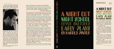 Night Out, Night School, Revue Sketches, and Early Plays, A. Harold Pinter.