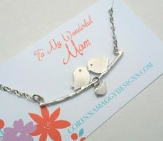 New Mom Necklace Personalized Jewelry mother's day wife by CMDetc, $26.00