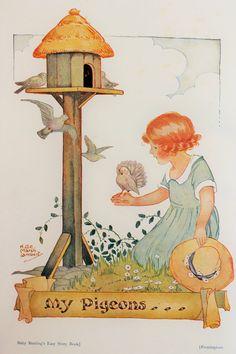 from ''Baby Bunting's Big Bedtime Book'' (1932) by Helen Grace Culverwell Marsh Lambert