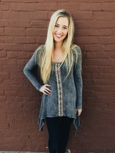 Charcoal Swing Top from Shop Southern Roots TX