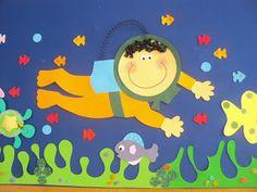 Mimos e mimos: Painel fundo do mar simplismente adorei !!!