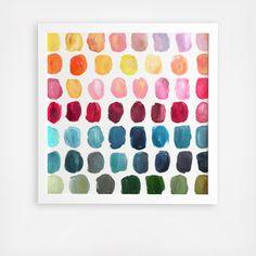 Playroom Wall Decor, Classroom Decor, Frames On Wall, Framed Wall Art, Palette Wall, Simple Colors, Minimalist Art, Artsy Fartsy, Colours