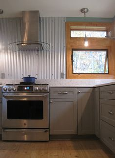 Corrugated Metal Design Ideas, Pictures, Remodel, and Decor - page 19