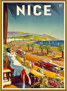 FRANCE VINTAGE TRAVEL POSTER Luchon RARE HOT NEW