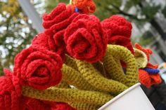 Rosas para un jardín ;) #LanaConnection #CampañaporlaLana #Crochet
