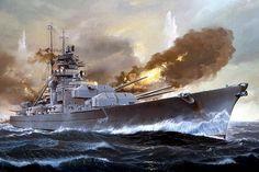 El Bismarck, cortesía de Revell. Más en www.elgrancapitan.org/foro