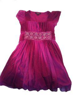 Girls Formal Pretty in Pink Dress at  www.themunchkinmarket.com
