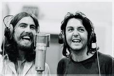 George and Paul ...aka ...half the Beatles