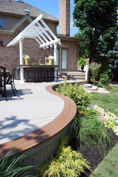 HGTVs Decked Out The BBQ Deck Paul Lafrance Design outdoor