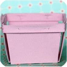 wood berry box painted pink {box available at www.montresor.com.au}