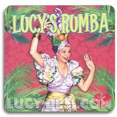 Latin I Love Lucy Mouse Pad