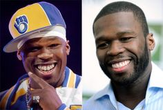 "50 Cent: This baller got even taller from his new grill. ""Ill Grills: Celebrity teeth makeovers"" from NY Daily News http://nydn.us/H2kHlL"