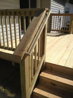Deck Stair Railing View More Deck Railing Ideas Http://awoodrailing.com/