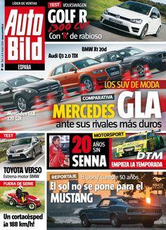 Revista #Autobild España 436. 20 años sin #Senna. El sol no se pone para el #Mustang.
