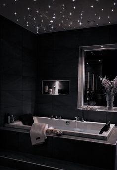 Home Building Design, Home Room Design, Dream Home Design, Modern House Design, Dream House Interior, Luxury Homes Dream Houses, Mansion Interior, Black Interior Design, Bathroom Design Luxury