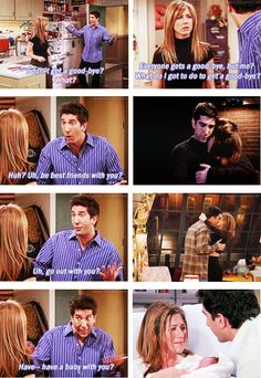 """""""Wait a minute, wait a minute! I did all those things!"""" #friends"""