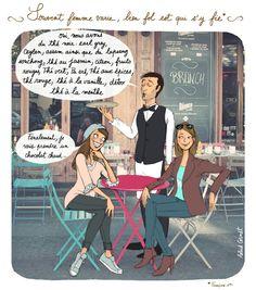 #illustration #humour #illustratrice #cafe #paris