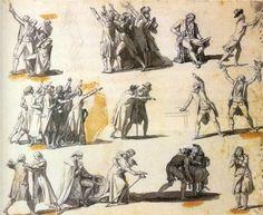 Deputies swearing oaths - Jacques-Louis David