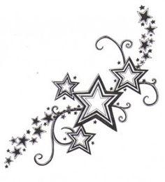 Tattoo Yakuza Japanese : Shooting Star Tattoo Designs 2016 tattoos on neck tattoos on neck on neck women catcher tattoos on neck Star Tattoo Designs, Star Designs, Tattoo Girls, Tattoo Women, Foot Tattoos, New Tattoos, Tatoos, Celtic Tattoos, Sleeve Tattoos