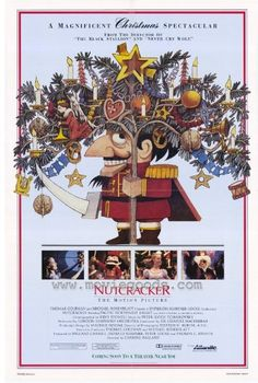 Nutcracker: The Motion Picture Poster 27x40 Pacific Northwest Ballet Movie Posters