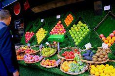 Les fruits.