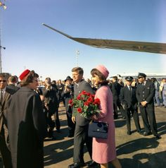 President and Mrs. Kennedy in Dallas on 1963