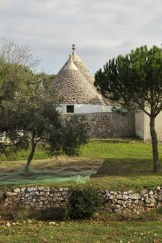 Trulli, Puglia, Italy Since I can't afford one, I designed my own from modeling clay!  Wish it were real!