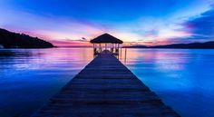 Saracen Bay Jetty by Christopher Waddell on 500px