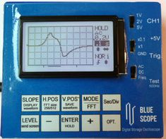 Cheap oscilloscope and sensor probes for physics experiment in school