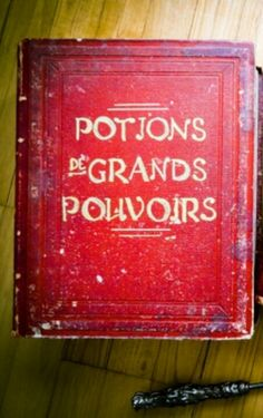 Potions. Spell book.  Magic.