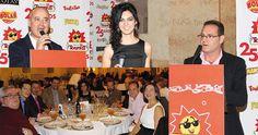 Tostados y Fritos culmina sus celebraciones del 25 Aniversario con un tributo a sus trabajadores: La compañía Tosfrit ha reunido a sus trabajadores en una cena de gala en el castillo de Pilas Bonas de Manzanares, con motivo de sus Bodas de Plata, para agradecerles su alta motivación y su contribución a los éxitos de la empresa