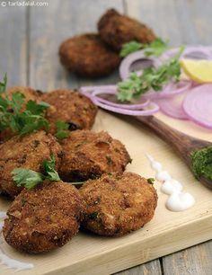 Dahi Ke Kebab recipe | Mughlai Recipes | by Tarla Dalal | Tarladalal.com | #30940