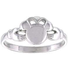 Your WDW Store - Disney Ring - Mickey Mouse Icon Claddagh by Kit Heath