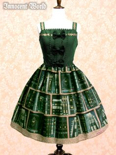 Royal Library Ribbon Jumperskirt by Innocent World