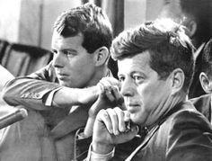 """The Brothers Robert Francis Kennedy (November 20, 1925 – June 6, 1968), who served as a Senator for New York from 1965 until his assassination in 1968. He was previously the 64th U.S. Attorney General from 1961 to 1964,  John Fitzgerald Kennedy (May 29, 1917 – November 22, 1963), commonly known as """"Jack"""" or by his initials JFK, was the 35th President of the United States, serving from January 1961 until he was assassinated in November 1963 ❤❋ ❤❋ http://en.wikipedia.org/wiki/John_F._Kennedy"""