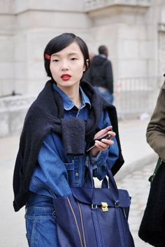 yes to bobby pins!  http://trendsoon.com/files.php?file=paris_fwaw2013_model_red_lips2_729046588.jpg