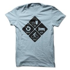 Eat, Sleep, Cycle, Repeat T Shirts, Hoodies. Get it here ==► https://www.sunfrog.com/Fitness/Eat-Sleep-Cycle-Repeat.html?41382
