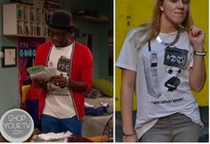 Shop Your Tv: Good Luck Charlie: Season 4 Episode 1 Emmett's 20th Century Hipster shirt