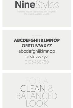 Free Font Of The Day : geomanist