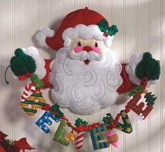 Patrones para juegos de baño navideños - Imagui