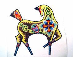 Joseph Newman - Beadwork - Native American Art - Horse