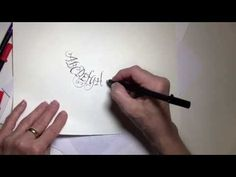 Calligraphy for Beginners - Part 1 - Ft. Maria Thomas