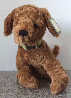 """Eddie Bauer Plush Brown Lab Dog By Gund 44565 NWT NEW 12"""" Stuffed With Collar  #EddieBauer"""