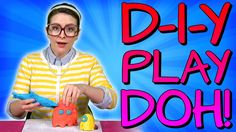 Every wondered how to make homemade Play Doh? Now you can! #DIY