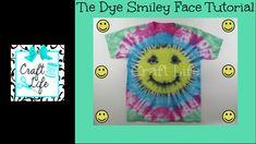 Craft Life ~ Smiley Face Tie Dye Tutorial – Best DIY images in 2019 Tie Dye Tutorial, Flower Tutorial, Smiley Faces, Spiral Tie Dye, How To Tie Dye, Craft Tutorials, Craft Ideas, Photo Craft, Summer Crafts